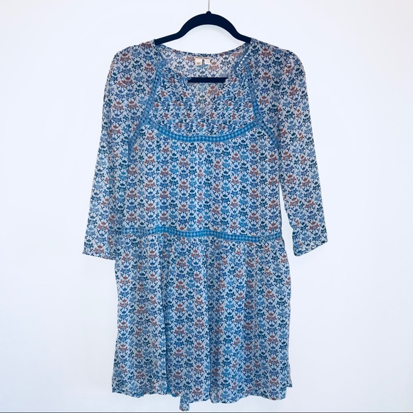 8b1cad6099ca Anthropologie Dresses & Skirts - BEAUTIFUL Anthro Holding Horses Boho Blue  dress